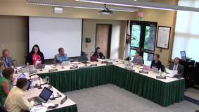August 24, 2017 Board Meeting